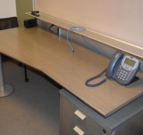 Metro Topo Desking System Qol Office Furniture